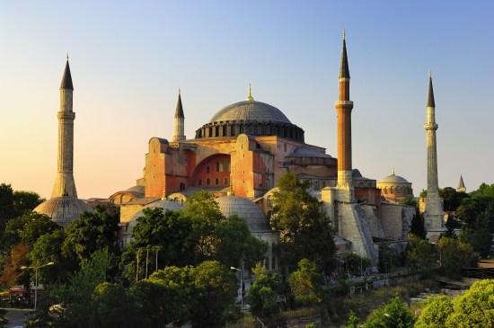 basilique Sainte-Sophie à Istanbul