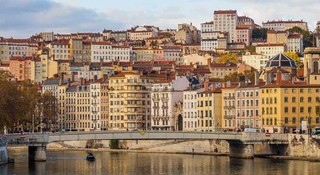 colline de la Croix-Rousse à Lyon