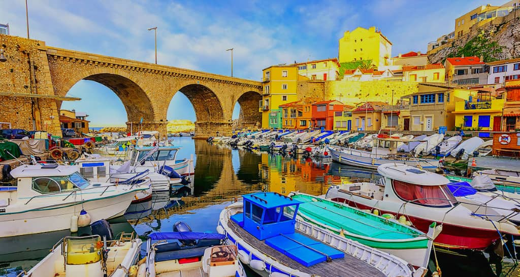 port du Vallon des Auffes à Marseille