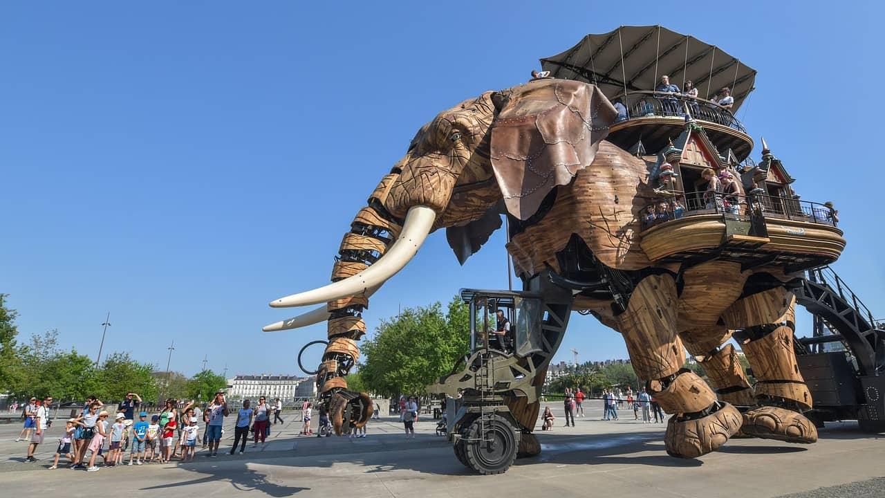 Le Grand Éléphant : les Machines de l'île à Nantes