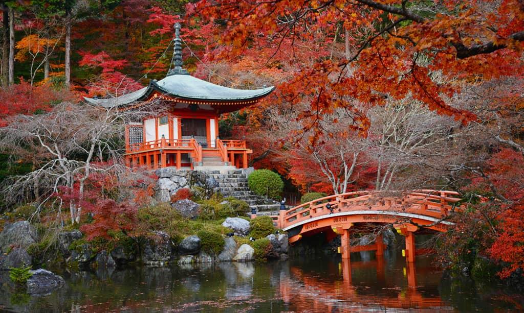 vacances en 'automne au Japon