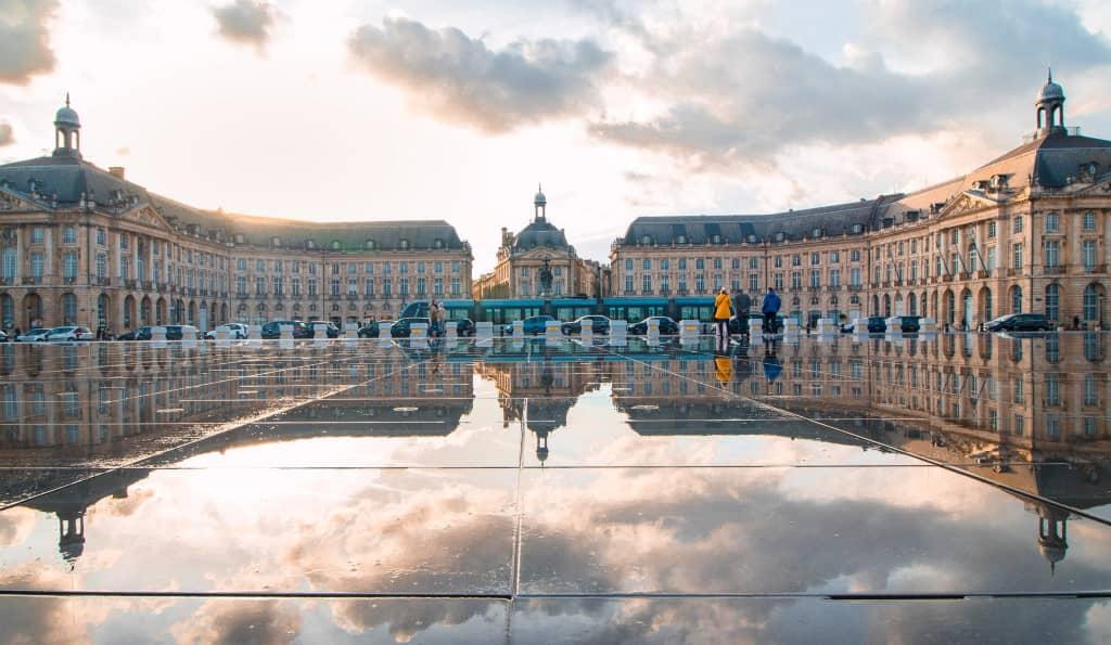 Bordeaux : place de la bourse