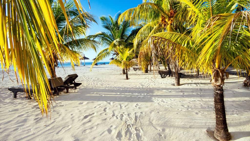 Île Maurice plage