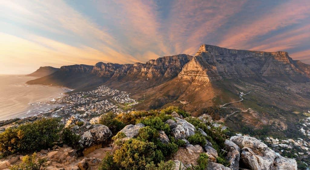 Randonnée montagne de la Table (Le Cap) en Afrique du Sud