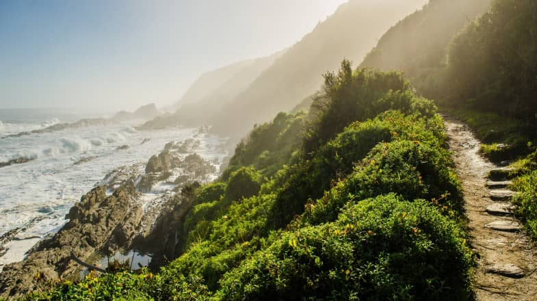 Randonnée du sentier des loutres en Afrique du Sud