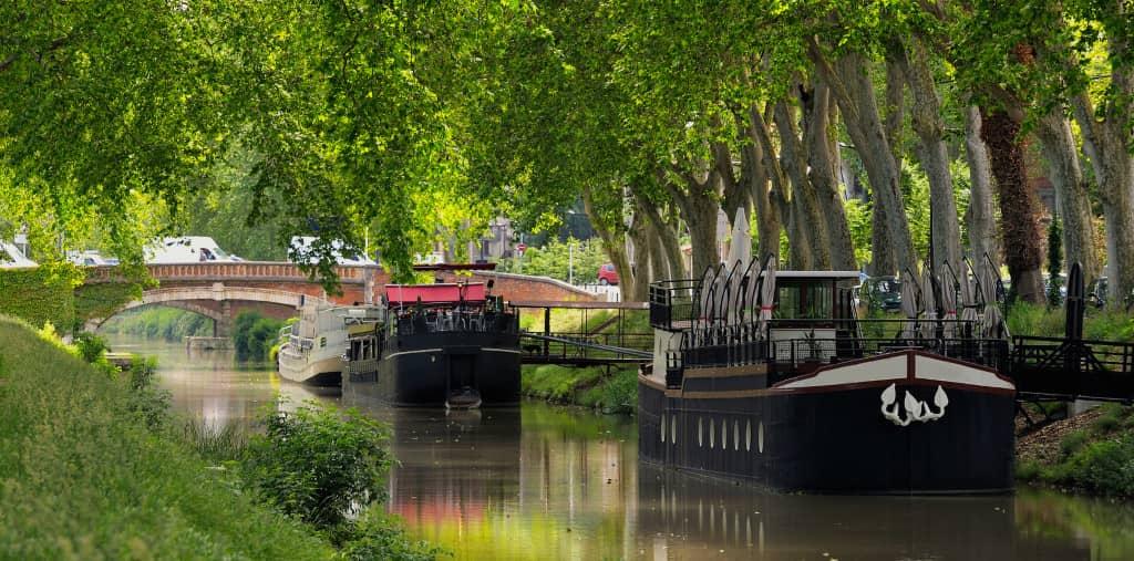 croisière au départ de Toulouse : canal du midi