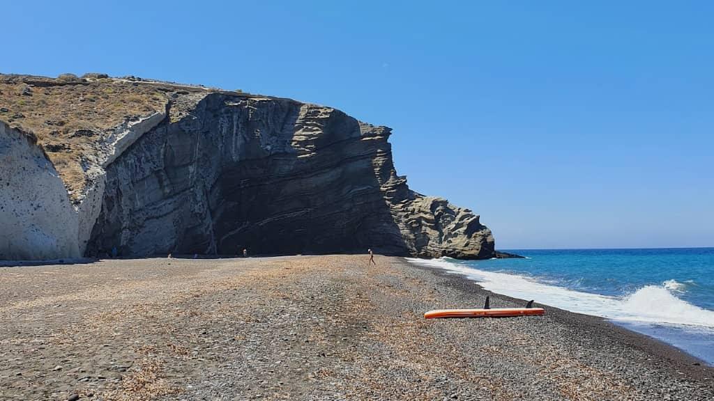 Cape Columbo beach Santorin plage